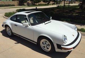 1988 Porsche 911 Carrera 3.2 For Sale