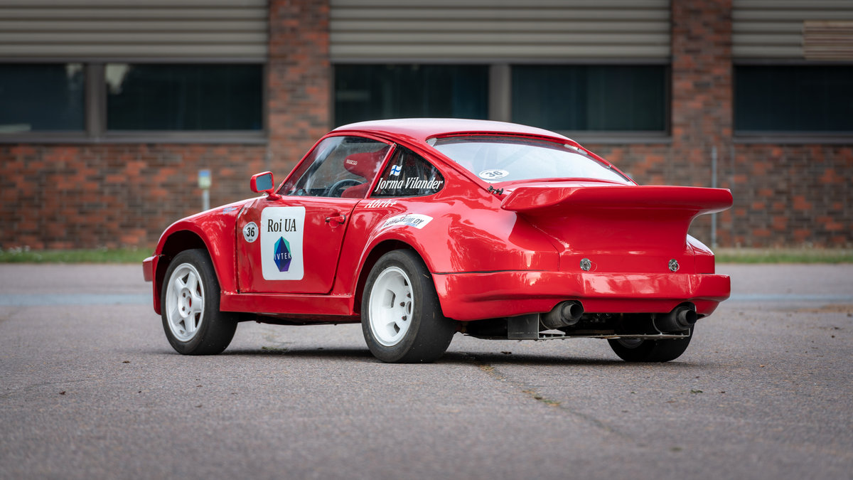 1972 Porsche 911 4wd rallycross classic For Sale (picture 2 of 4)