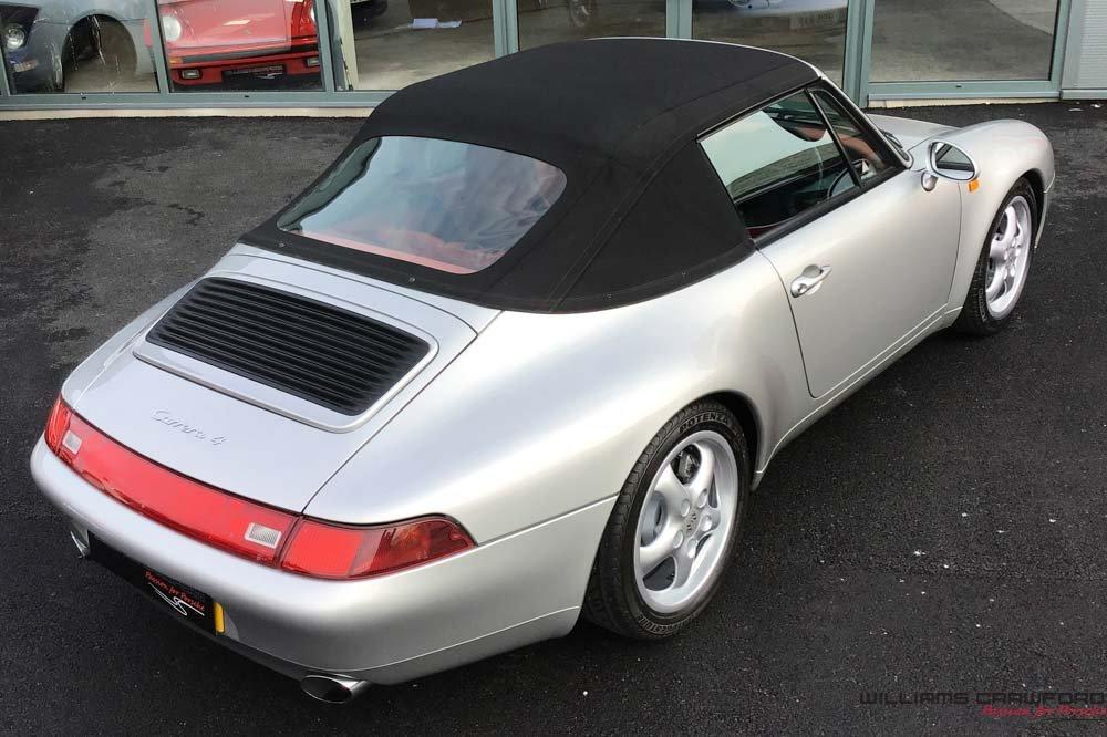 1998 Porsche 993 Carrera 4 manual cabriolet - the last RHD cabrio For Sale (picture 6 of 6)