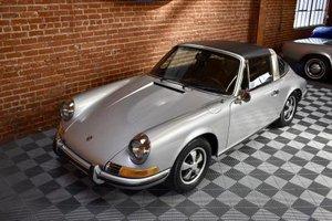 1970 Porsche 911 E Targa = Silver(~)Black driver  114.5k