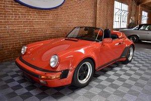 1989 Porsche 911 Speedster = Red(~)Tan 12k miles $174.5k For Sale