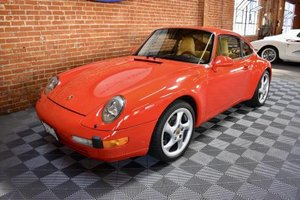 1995 Porsche 993 Carrera Coupe = Red(~)Tan 49k miles $56.5k For Sale
