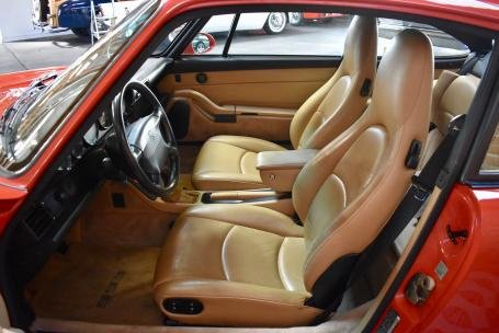 1995 Porsche 993 Carrera Coupe = Red(~)Tan 49k miles $56.5k For Sale (picture 5 of 6)