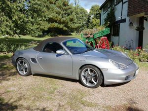 2004 Porsche Boxster S 550 Anniversary Edition For Sale by Auction