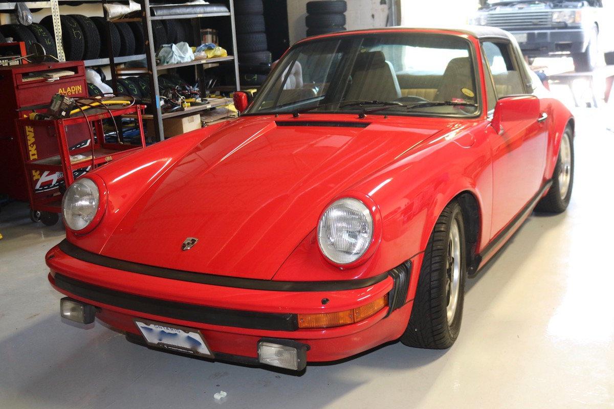 1982 Porsche 911SC Targa For Sale (picture 1 of 6)