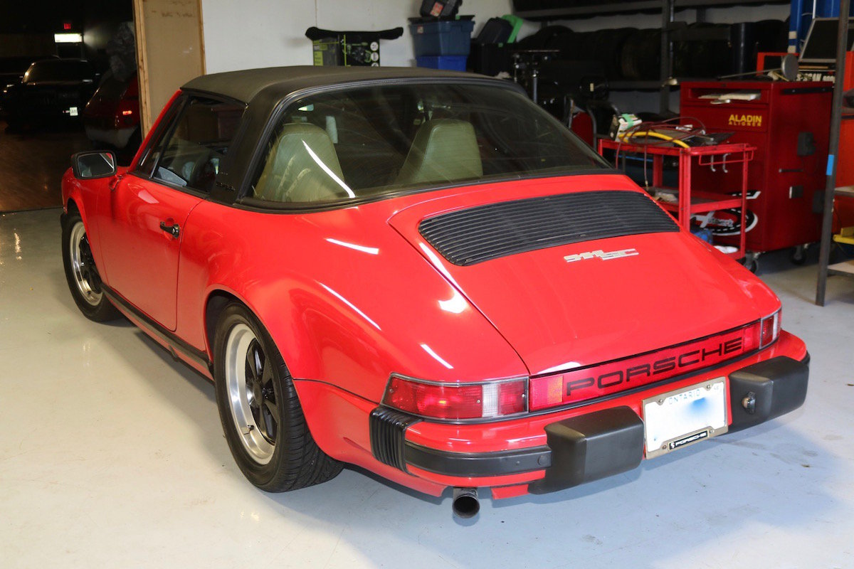 1982 Porsche 911SC Targa For Sale (picture 2 of 6)