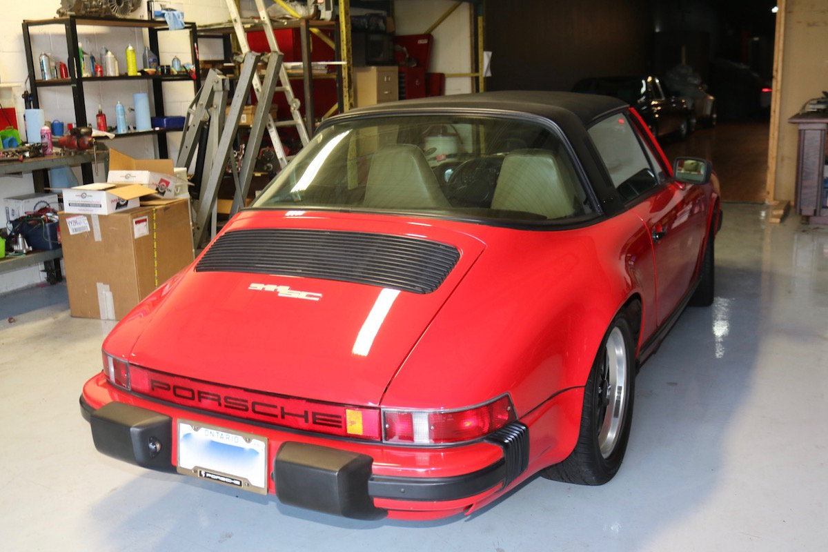 1982 Porsche 911SC Targa For Sale (picture 3 of 6)