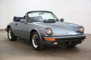 1984 Porsche Carrera Cabriolet For Sale