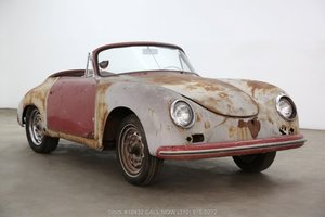 1958 Porsche 356A Cabriolet with 2 tops For Sale