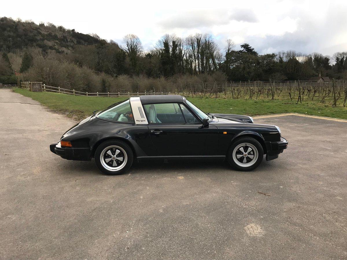 1987 Porsche 911 Targa For Sale (picture 2 of 6)
