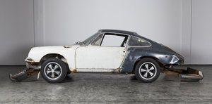 1968 Porsche 912 sunroof coupé slategrey/black