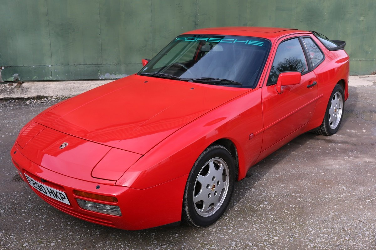 1989 PORSCHE 944S2 COUPE IN GAURDS RED For Sale (picture 1 of 6)