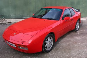 1989 PORSCHE 944S2 COUPE IN GAURDS RED For Sale