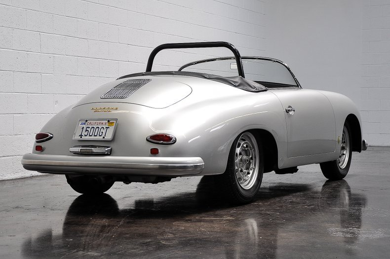 1957 Porsche 356A 1500 GS/GT Carrera Speedster = History  For Sale (picture 2 of 6)