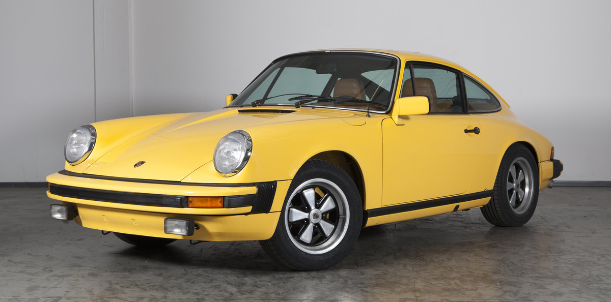 1977 Porsche 911 2.7S sunroof coupé talbotyellow - restored For Sale (picture 1 of 6)