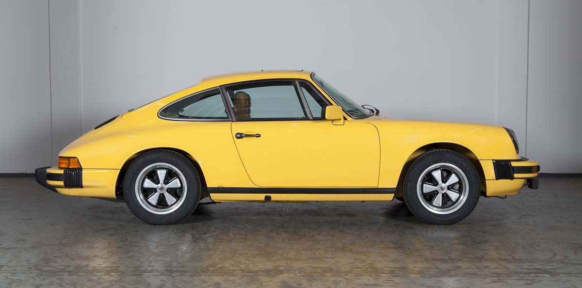 1977 Porsche 911 2.7S sunroof coupé talbotyellow - restored For Sale (picture 2 of 6)
