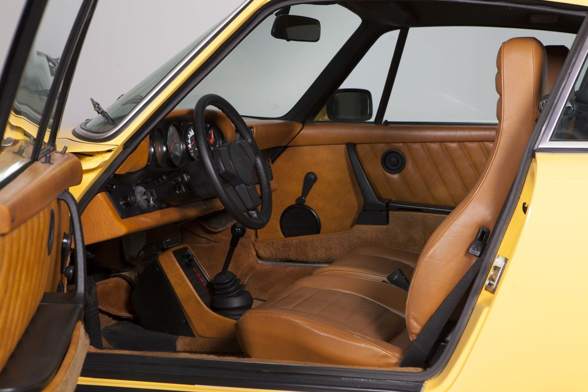 1977 Porsche 911 2.7S sunroof coupé talbotyellow - restored For Sale (picture 6 of 6)