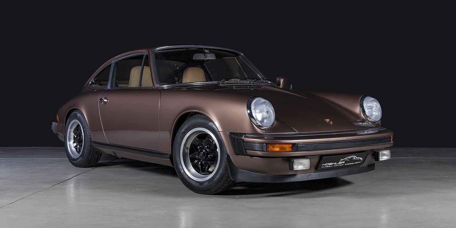 1976 Porsche 911 2.7S coupé copper brown tartan For Sale (picture 1 of 4)