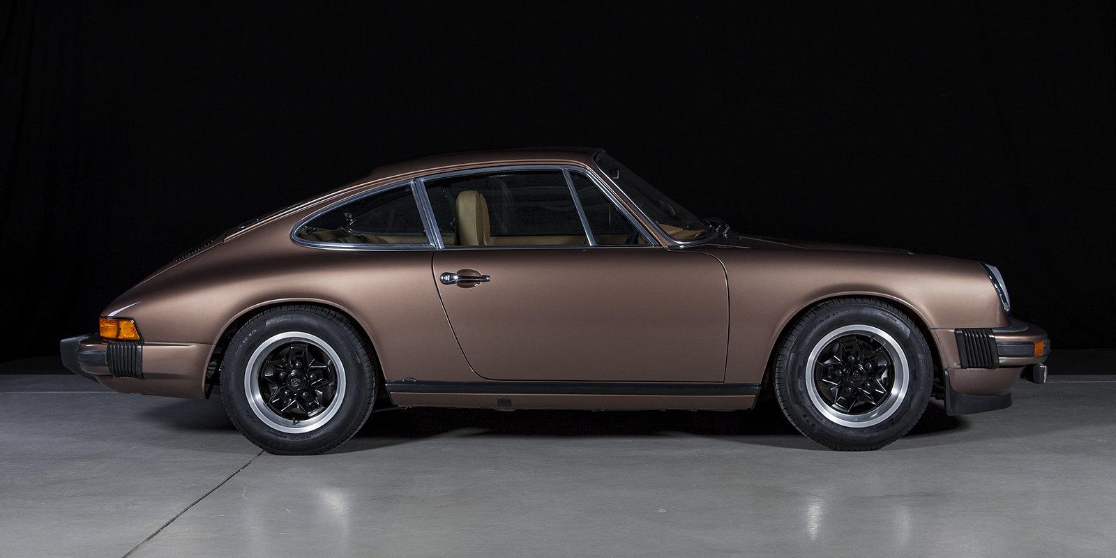 1976 Porsche 911 2.7S coupé copper brown tartan For Sale (picture 4 of 4)