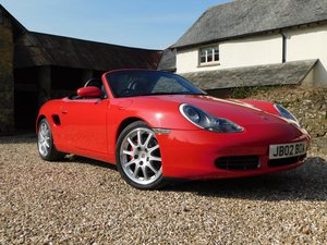 2002 Porsche 986 Boxster 3.2 S - 28k miles, immaculate For Sale