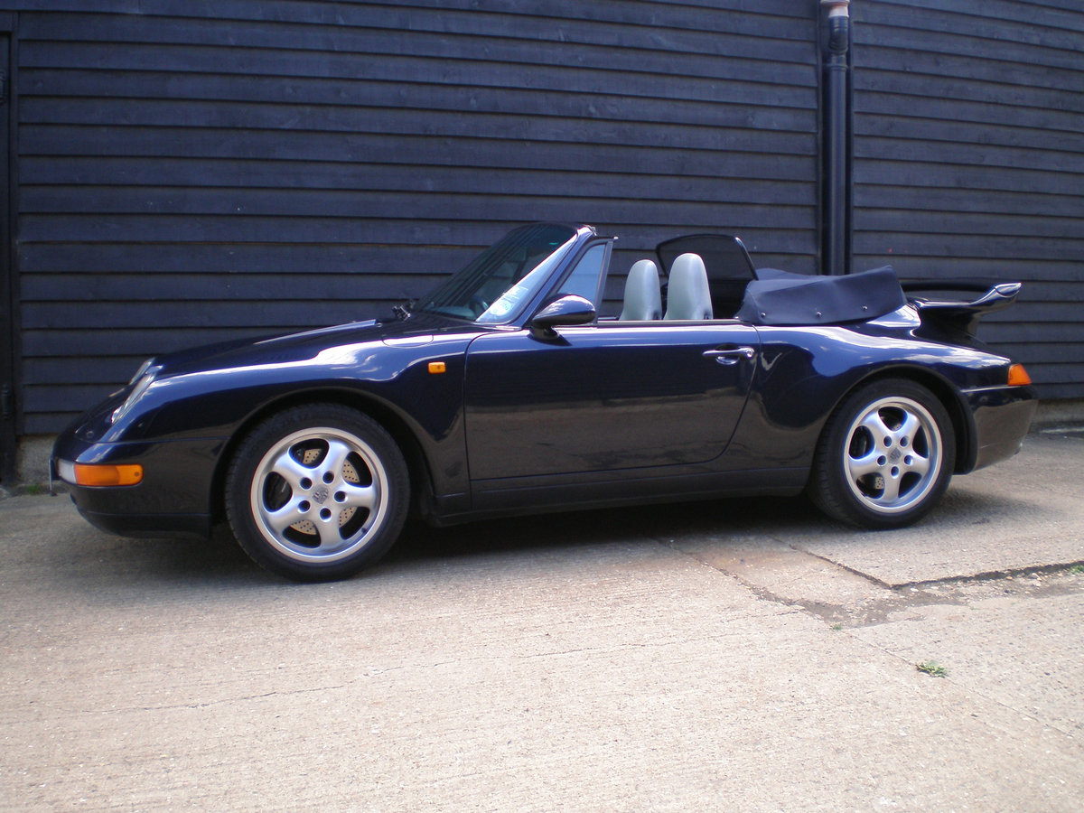 1994 PORSCHE 911/993 3.6 CARRERA 2 CONVERTIBLE New Clutch & Hood  For Sale (picture 1 of 6)