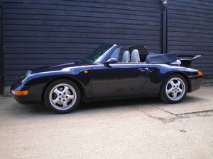 1994 PORSCHE 911/993 3.6 CARRERA 2 CONVERTIBLE New Clutch & Hood  For Sale