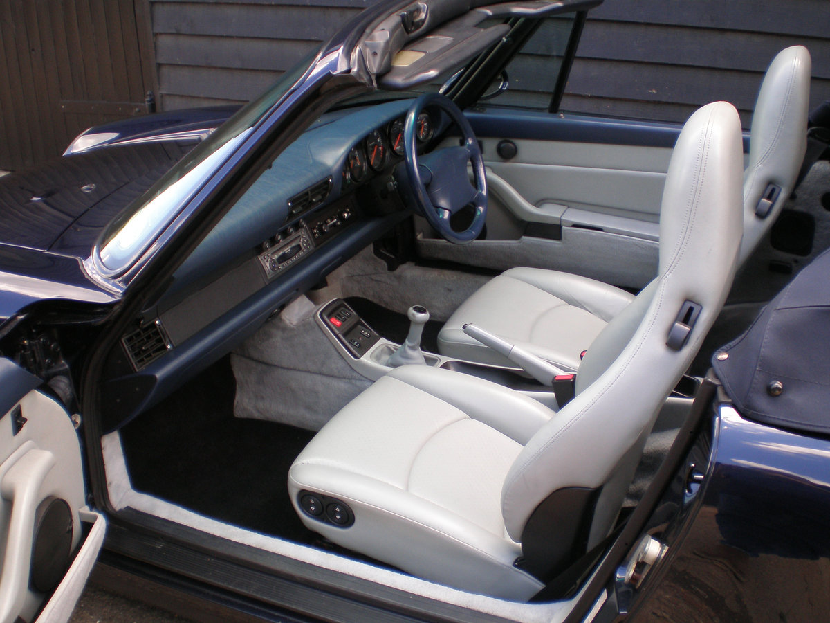 1994 PORSCHE 911/993 3.6 CARRERA 2 CONVERTIBLE New Clutch & Hood  For Sale (picture 2 of 6)