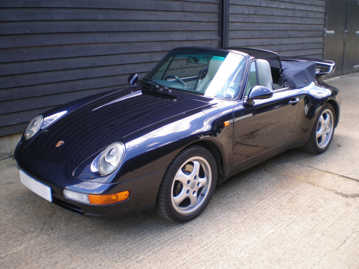 1994 PORSCHE 911/993 3.6 CARRERA 2 CONVERTIBLE New Clutch & Hood  For Sale (picture 3 of 6)
