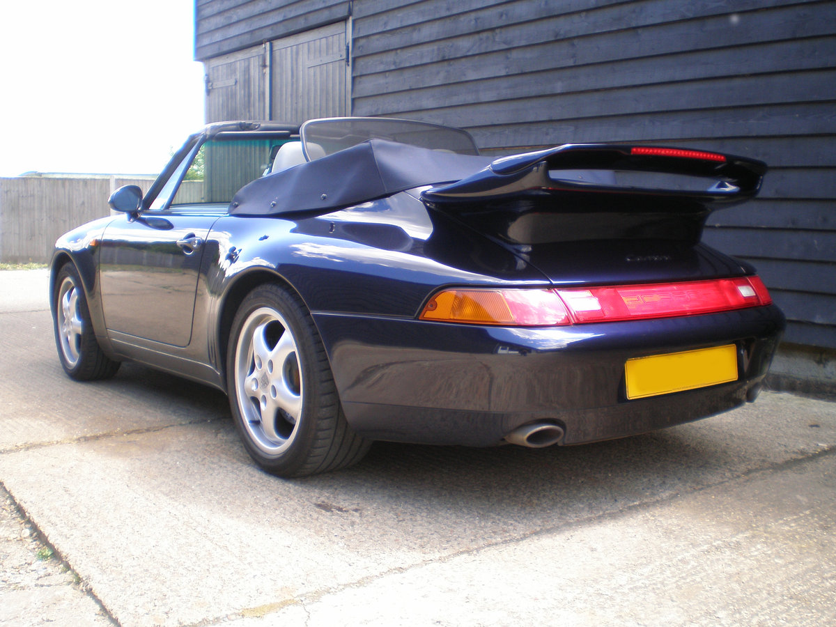 1994 PORSCHE 911/993 3.6 CARRERA 2 CONVERTIBLE New Clutch & Hood  For Sale (picture 5 of 6)