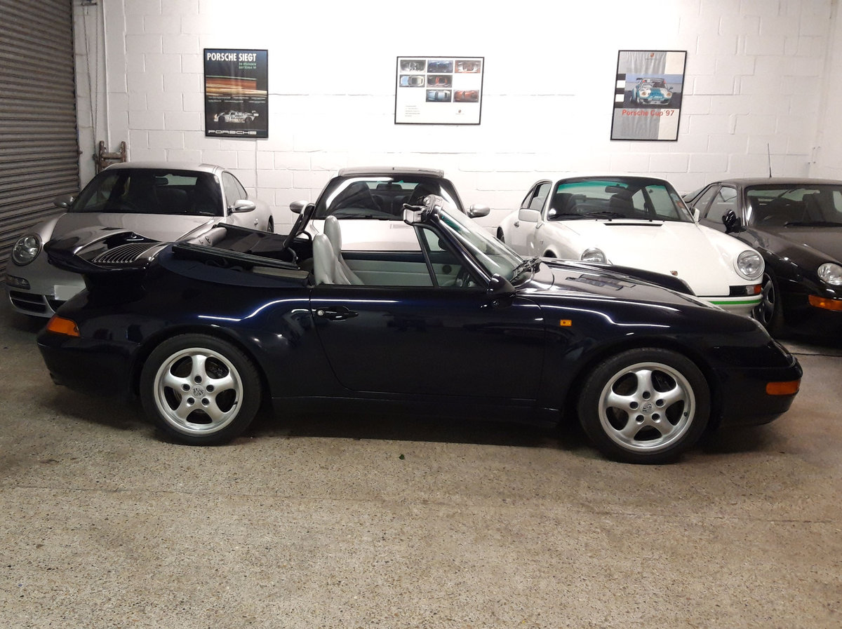 1994 PORSCHE 911/993 3.6 CARRERA 2 CONVERTIBLE New Clutch & Hood  For Sale (picture 6 of 6)
