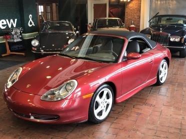 2001 Porsche 911 Cabriolet =Manual 6 speed Red $25.9k For Sale