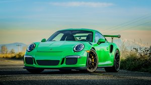 2016 Porsche 911 GT3RS = Go Green 1.8k miles Auto $209k For Sale