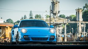 2011 Porsche 911 Turbo S = Auto 10.9k miles Blue $obo For Sale