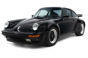 1987 Porsche 911 930 Turbo Coupe = 4-Speed Black $128.5k For Sale