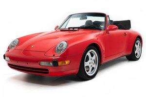 1995 Porsche 911 Carrera Cabriolet Carrera = 6spd Manual $49 For Sale