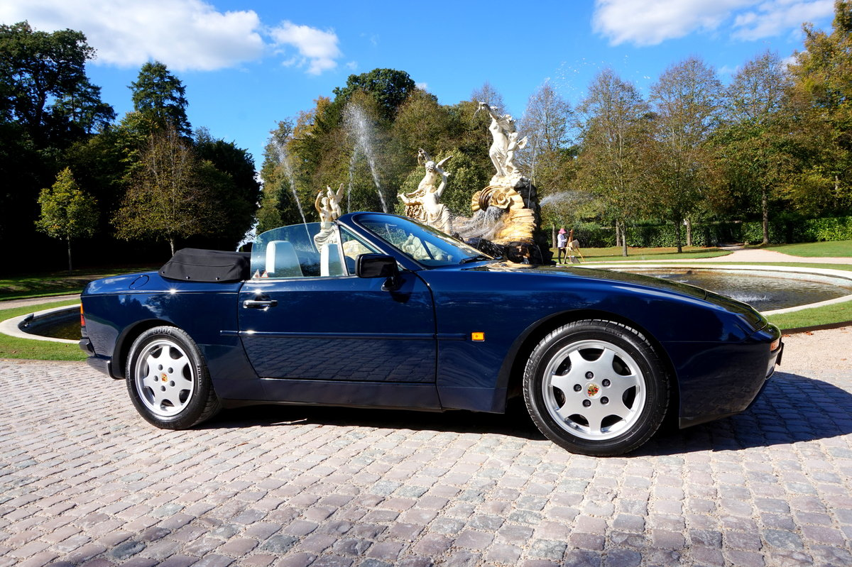 1989 944S2 CABRIOLET-1OWNER 42k MILES For Sale (picture 1 of 6)