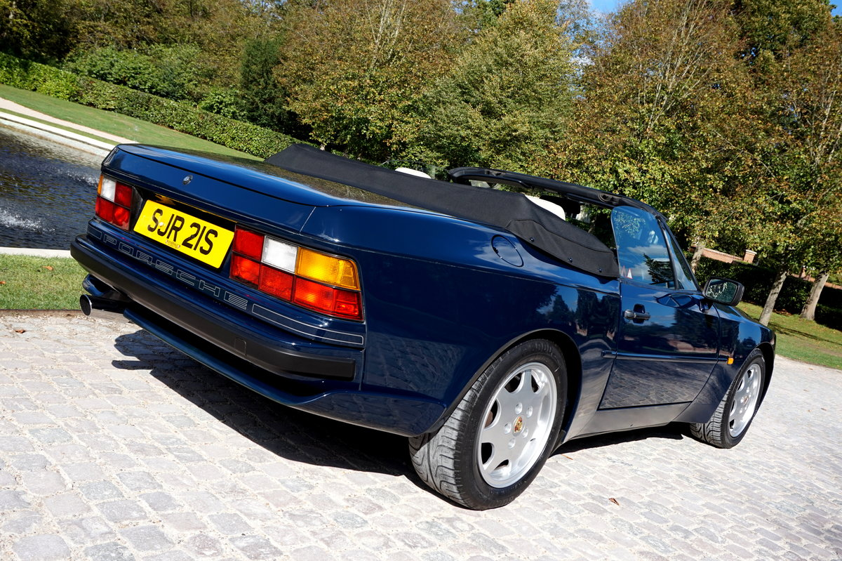 1989 944S2 CABRIOLET-1OWNER 42k MILES For Sale (picture 2 of 6)