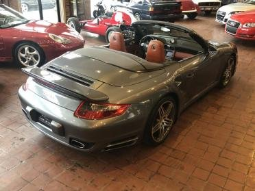 2008 Porsche 911 Turbo Cabriolet = Grey(~)Brown  $68.9k For Sale (picture 2 of 6)