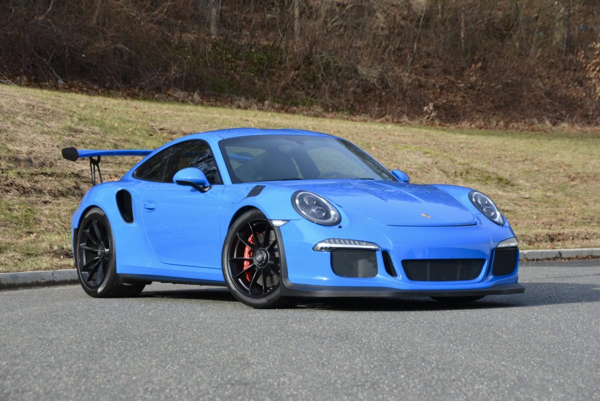 2016 Porsche GT3 RS = Rare Voo Doo Blue  8k miles  $198k For Sale (picture 1 of 6)