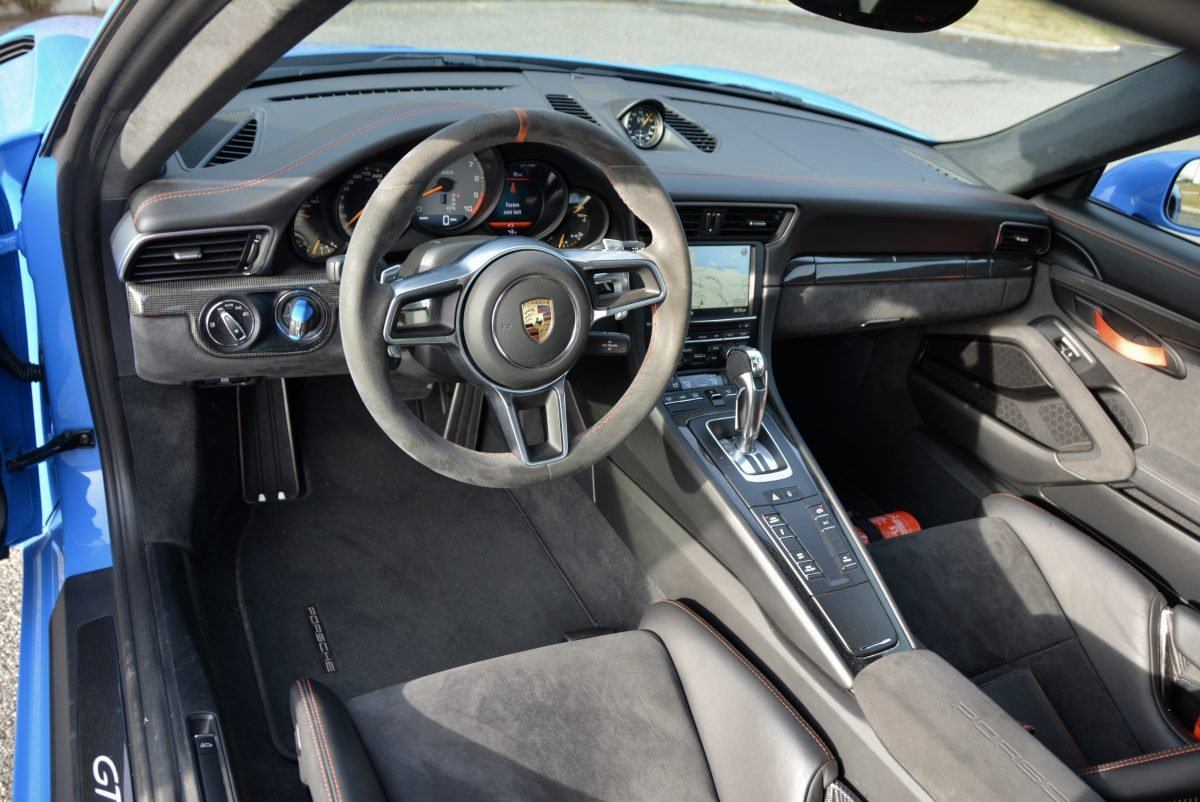 2016 Porsche GT3 RS = Rare Voo Doo Blue  8k miles  $198k For Sale (picture 4 of 6)