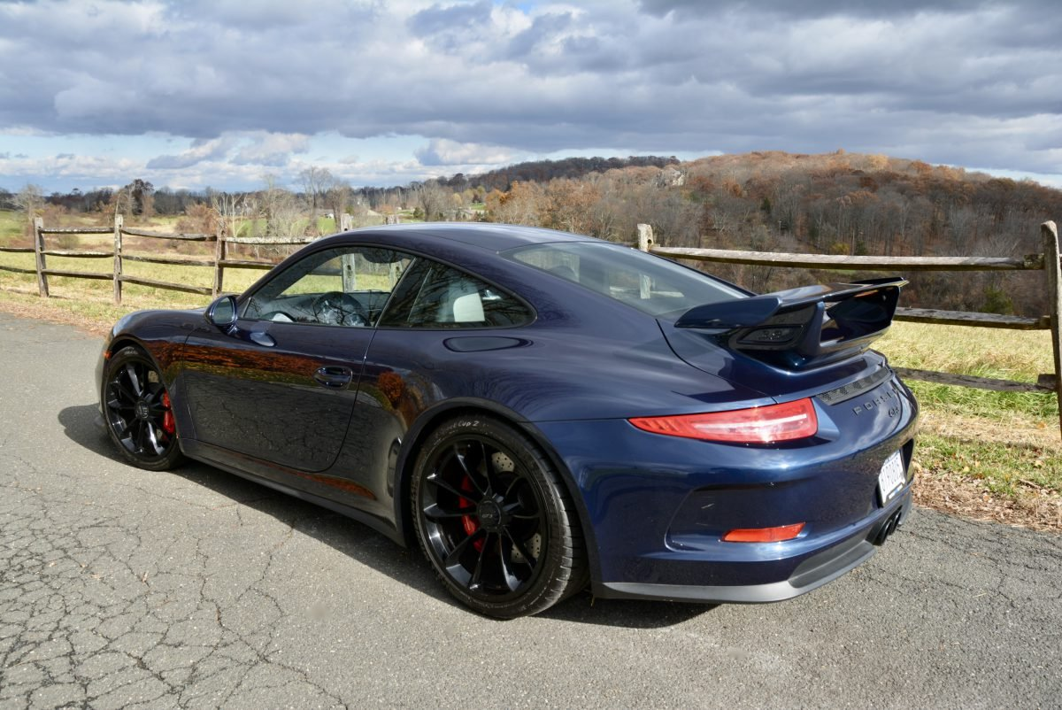 2015 Porsche 911 GT3 = Auto Dark Met Blue 13k miles $127.9k For Sale (picture 3 of 6)