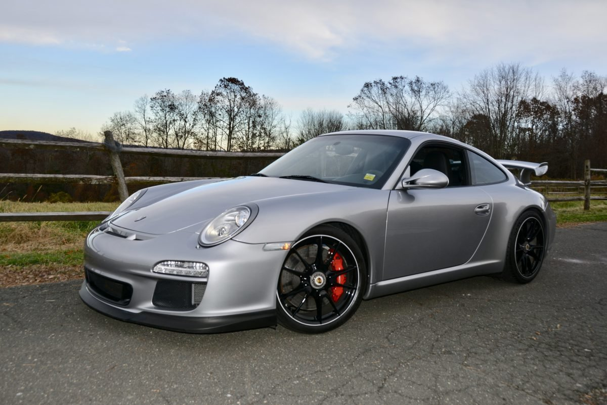 2011 Porsche 997.2 GT3 = Manual 13k miles Silver  $119.9k For Sale (picture 1 of 6)