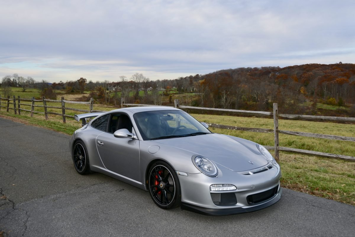 2011 Porsche 997.2 GT3 = Manual 13k miles Silver  $119.9k For Sale (picture 2 of 6)