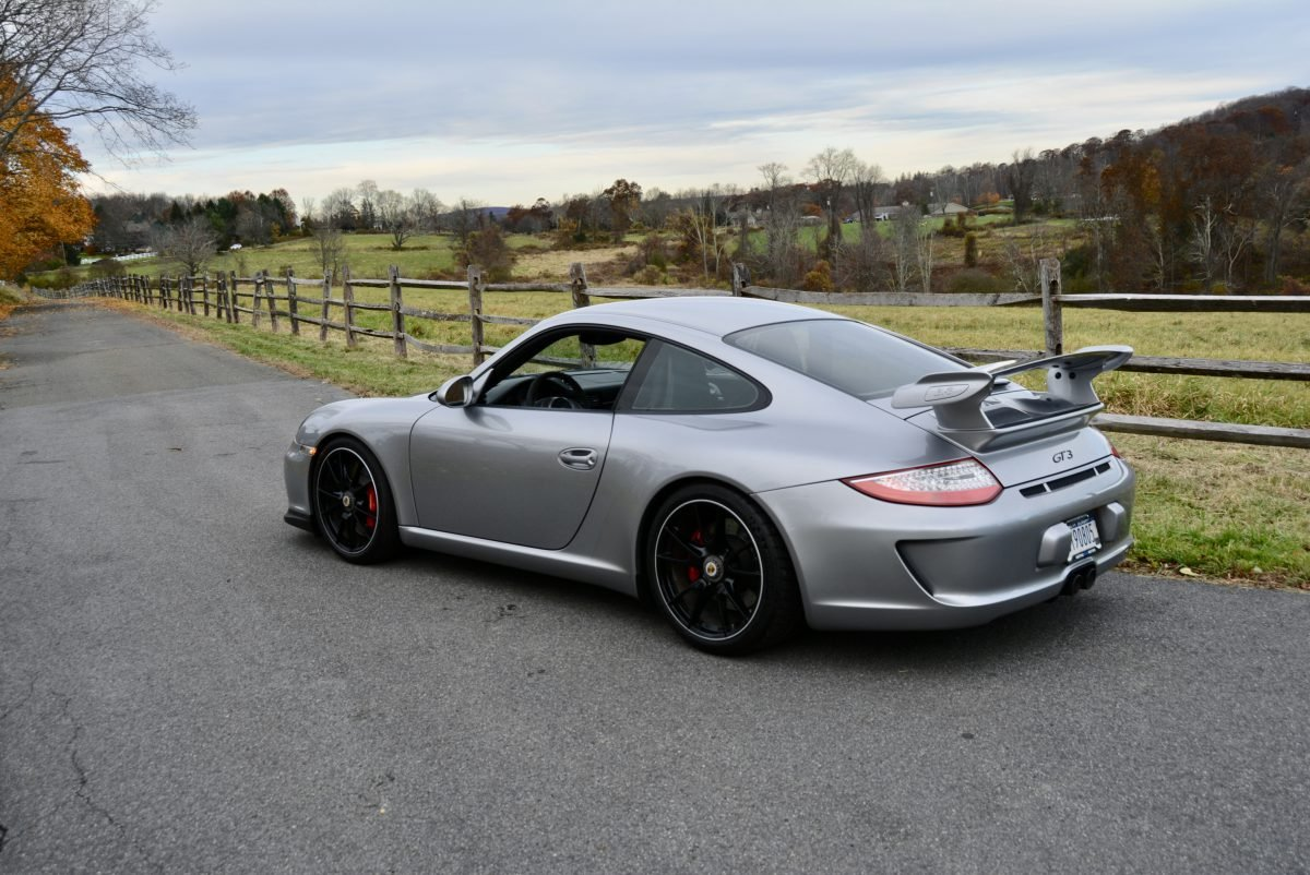 2011 Porsche 997.2 GT3 = Manual 13k miles Silver  $119.9k For Sale (picture 3 of 6)