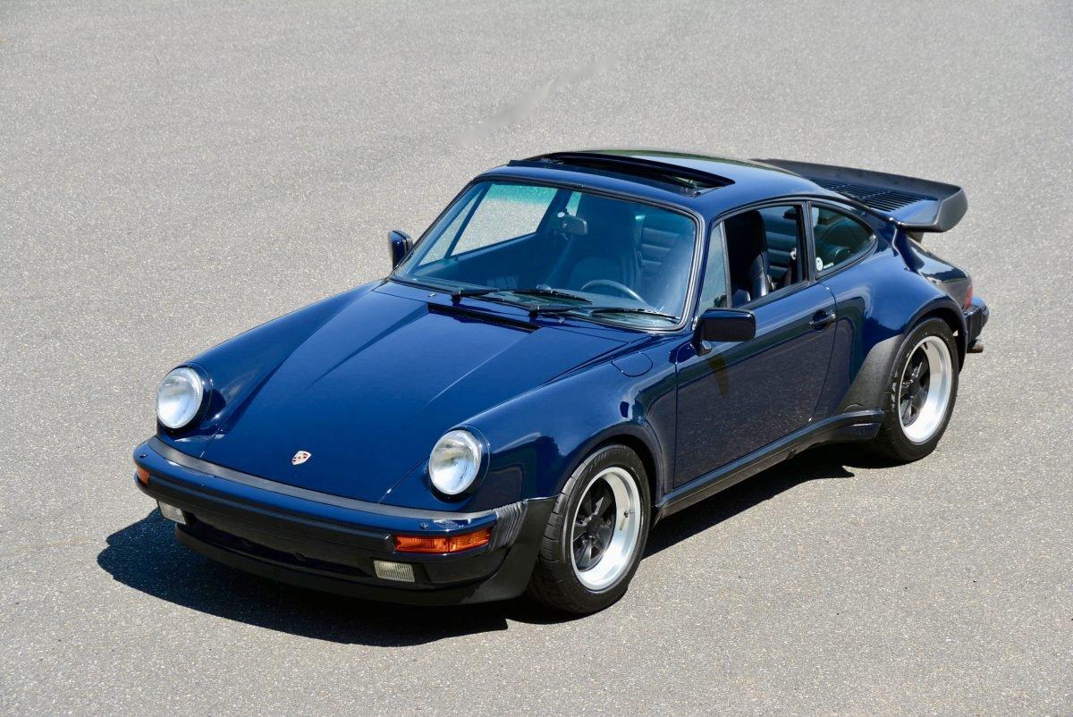 1987 Porsche 930 Turbo Coupe = 35k miles Blue $obo For Sale (picture 1 of 6)