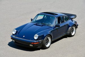 1987 Porsche 930 Turbo Coupe = 35k miles Blue $obo For Sale