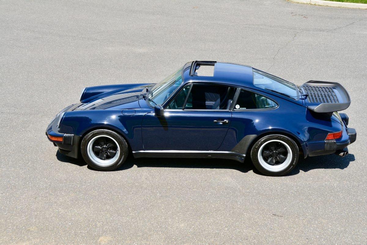 1987 Porsche 930 Turbo Coupe = 35k miles Blue $obo For Sale (picture 2 of 6)
