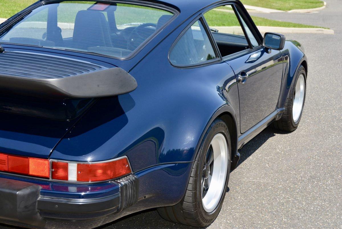 1987 Porsche 930 Turbo Coupe = 35k miles Blue $obo For Sale (picture 3 of 6)