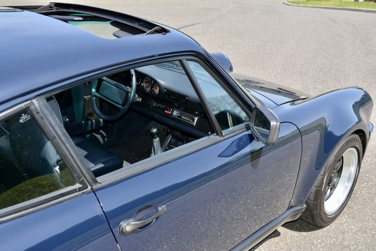 1987 Porsche 930 Turbo Coupe = 35k miles Blue $obo For Sale (picture 5 of 6)