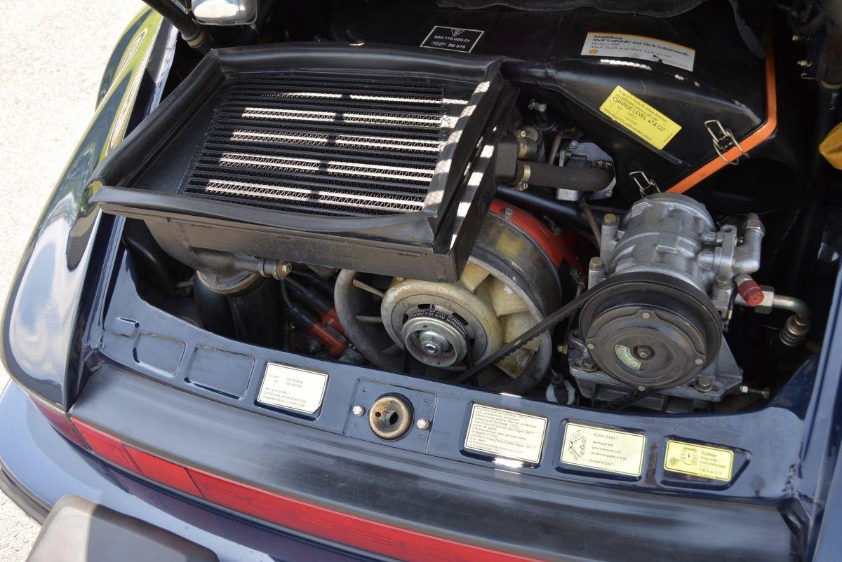 1987 Porsche 930 Turbo Coupe = 35k miles Blue $obo For Sale (picture 6 of 6)